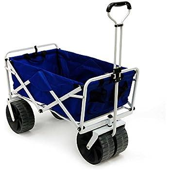 Amazon.com : Folding Beach Wagon All Terrain Blue