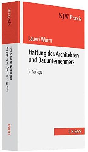 Haftung des Architekten und Bauunternehmers