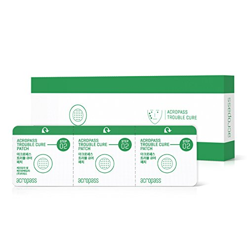 Trouble Cure Microneedle Pimple Patch - 6 Swabs, 6 Patches ACROPASS
