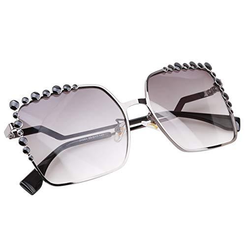de Noir Carré lunettes EJY soleil Lentille Lunettes dégradé Des Femmes Femelle vIqp47