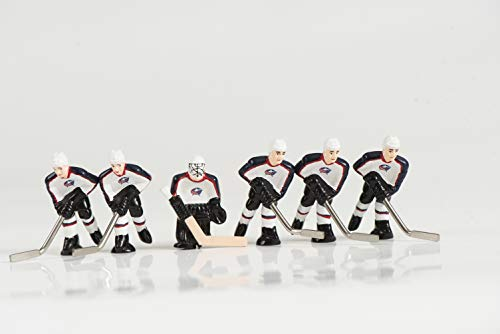 (NHL Columbus Blue Jackets Table Top Hockey Game Players Team Pack )
