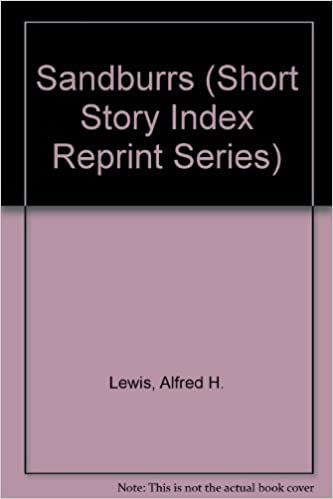 Book Sandburrs (Short Story Index Reprint Series)