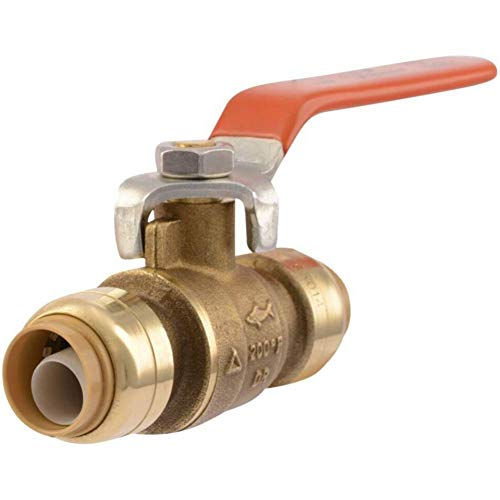 SharkBite 22222-0000LFA 22222-0000LF Plumbing fitting, 0.5 Inch, Brass