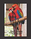 Parrot Calendar Weekly Monthly Planner Organizer for 2019