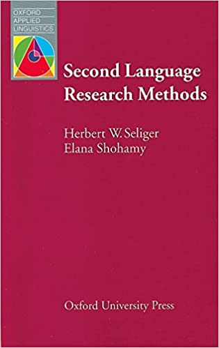 Amazon.com: Second Language Research Methods (Oxford Applied ...