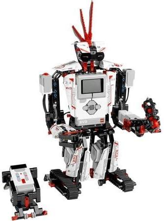 LEGO MINDSTORMS EV3 Building Set Includes 3 Interactive Servo Motors, Remote Control, Improved And Redesigned Color Sensor, Redesigned Touch Sensor, Infrared Sensor And 550+ LEGO Technic Elements