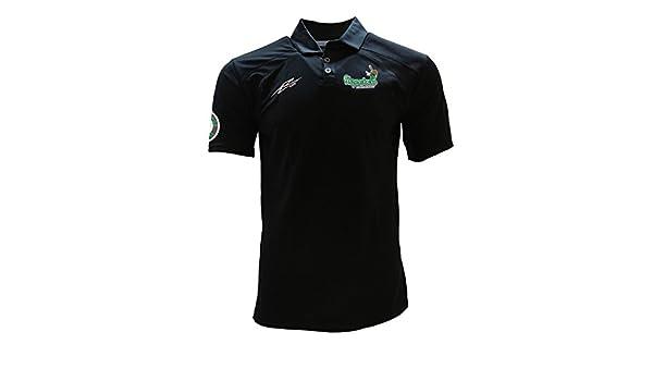 103fa3ab3 Mexican Baseball Teams Polo Shirt Black Nopaleros de Zacatecas at Amazon  Men s Clothing store
