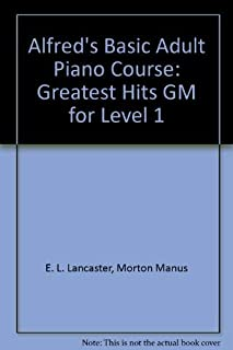 Alfred's Basic Adult Piano Course: Greatset Hits, Level 1 (0739016644) | Amazon Products