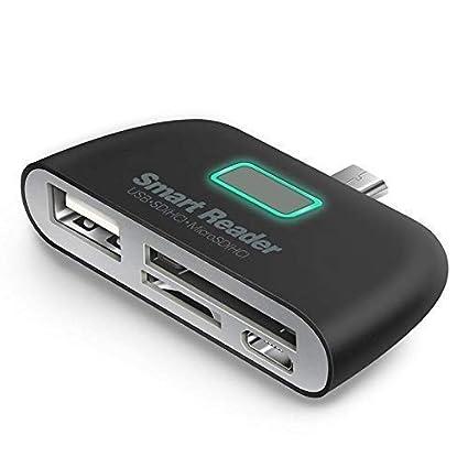 BRIX USB 3.1 Type-C OTG Card Reader Type C USB-C Male To USB