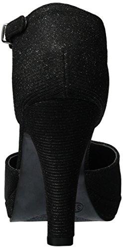 Jane Klain 283 710 - Tacones Mujer Schwarz (Black)