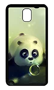 Note 3 Case, Galaxy Note 3 Case, [Perfect Fit] Soft TPU Crystal Clear [Scratch Resistant] Funny Kung Fu Panda Creativity Back Case Cover for Samsung Galaxy Note 3 N9000 Cases