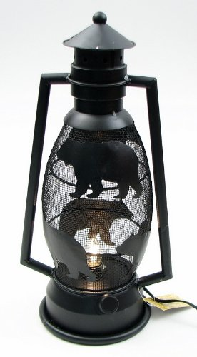 DealsJungle Bear Lantern Night Light For Home and Garden Decoration - Old Men Husband Boy Offering Grandpa Father Kids Him Couple