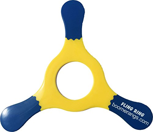 Yellow Fling Ring Boomerang - Easy Returning Boomerangs! ()