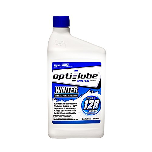 Opti-Lube Winter Formula Diesel Fuel Additive: Quart Treats up to 128 Gallons