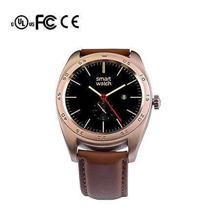 Bluetooth smart watch reloj teléfono inteligente Fitness Relojes, Pulsómetros, Cronómetro, Gps para running