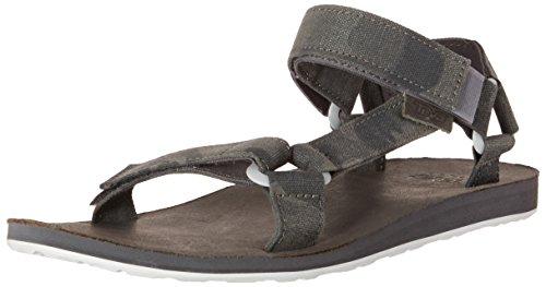 Teva Mens Sandalo Universale Universale In Tela Grigio