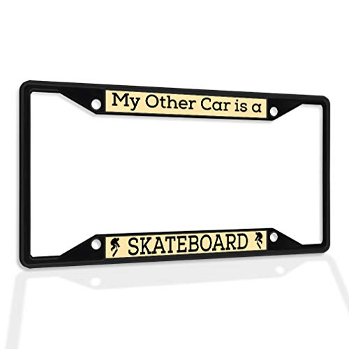 license plate frame skateboard - 2