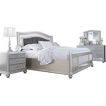 Amazon Com Ashley Coralayne 4pc Bedroom Set E King