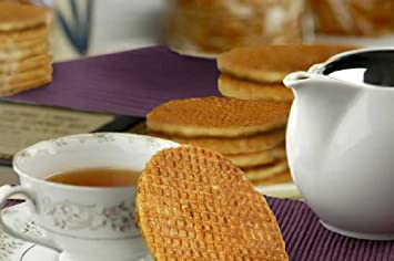 Stroopwafels  Dutch Caramel Syrup Waffle Cookies