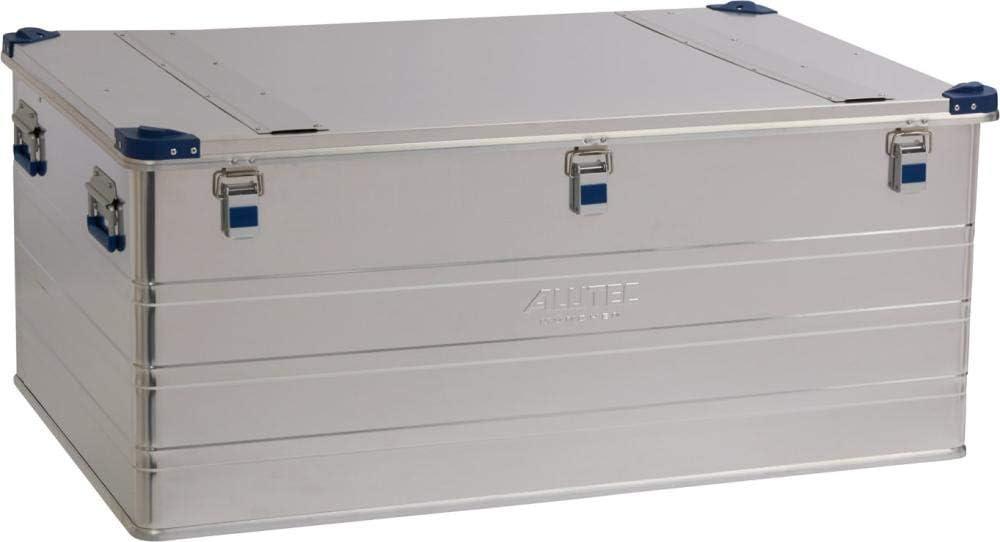 ALUTEC M/ÜNCHEN Transportkiste Industry 140 Aluminium Box 140 Liter mit Deckel