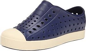 Native Kids Shoes Unisex Jefferson (Little Kid) Regatta Blue 2 Sneaker 2 Little Kid M