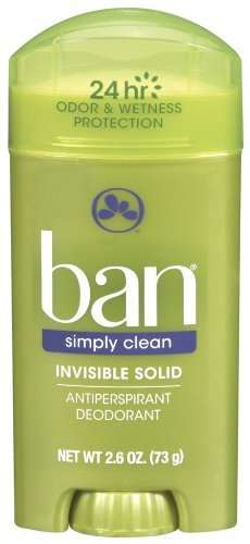 Ban Invisible Solid, Simply Clean - 2.6 - Men For Ban
