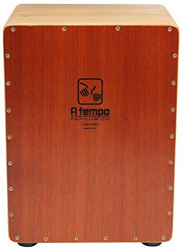(A Tempo Percussion El Cajoncito (The Little Cajon) - 3/4 Size Cajon Made in Peru)