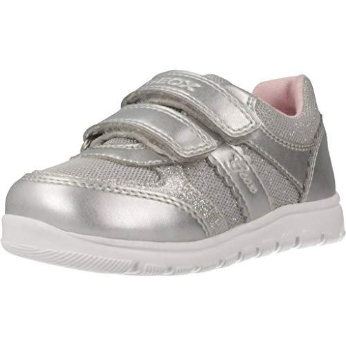 premium selection aa092 c07fa Girl Xunday Bebés Zapatillas B Plateado Geox C1007 Para B silver n6x5E
