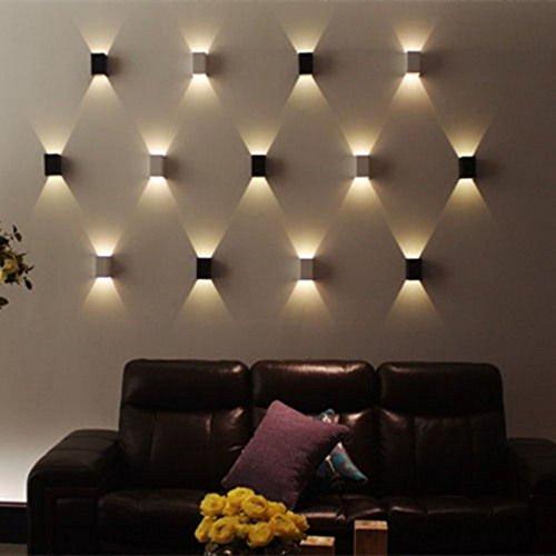 AGPtEK Indoor Energy Saving LED Soft Light Wall Lamp for Hallway ...