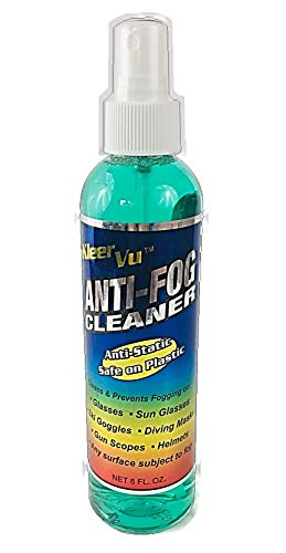 KleerVu Anti-Fog Lens Cleaner Excellent for Eyeglasses, Helmets, Gun scopes, Binoculars, Sports Goggles, Military Masks, Welding Masks, Windows, Mirrors, Autos, Motorcycle, Snow Machines, and Boats.
