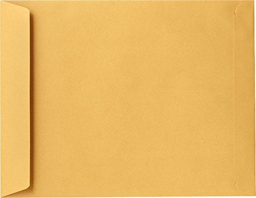 14 x 18 Jumbo Envelopes - 28lb. Brown Kraft - Pack of 50 by Envelopes.com