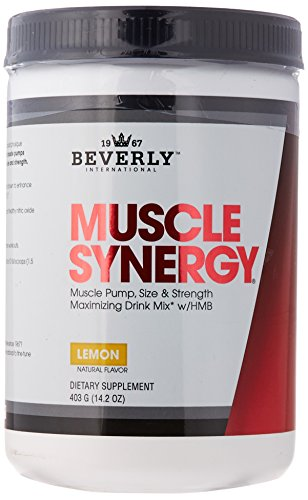 Beverly International Muscle Synergy Powder, 403 grams. Who else wants to make lean muscle gains like you did in your 20s?