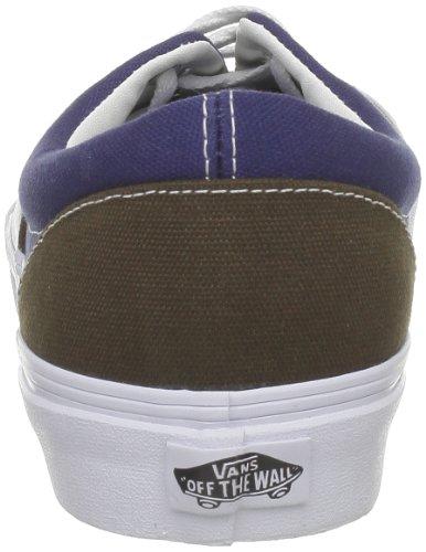 Azul Marrón Vintage Brown Vans Zapatillas Era Hombre Skateboarding de 7q0Y80Xw
