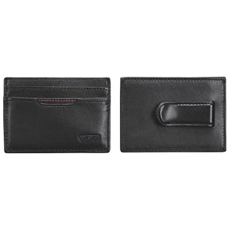 newest 74b84 940ad TUMI Delta Money Clip Card Case (0118651D-ID) - Black_4 in: Amazon ...