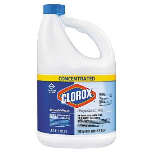 Clorox 764442854668 Liquid Bleach-121-Oz. Bottle-Case of 3, 343 Ounce
