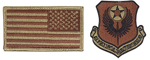 USAF Special Operations Command OCP Spice Brown Patch and Reverse Flag Bundle (Single Bundle)