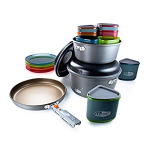 GSI Outdoors Pinnacle Camper Outdoor Cook Set