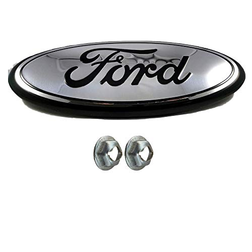 Achoc Chrome with Black Line Grille or Emblem with Nuts,Oval 9