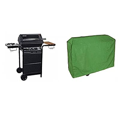 Bazaar Green BBQ Barbecue Grill Water Proof Cover Bag BBQ Gas Grill Protection