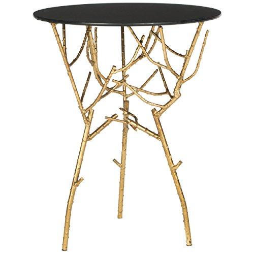 Safavieh FOX2520B Home Collection Tara Accent Table, Gold
