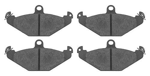 Replacement Febi Bilstein Rear Brake Pads (Full set for Rear Axle) 16403 (10500 Brake)