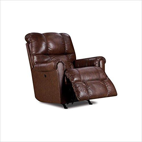 Lane Furniture Eureka Recliner in Saddle Brown & Genuine Leather Recliner: Amazon.com islam-shia.org