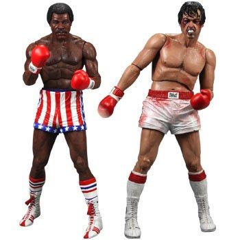 Neca - Rocky Action Figure 2-Pack Rocky vs. Apollo Exclusive 18 cm