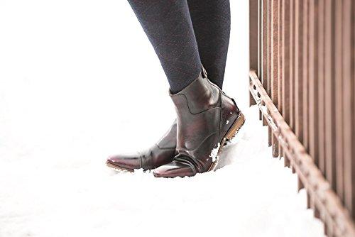 Lauria Garrelli Stiefelette - Scotland- echtes Leder weinrot