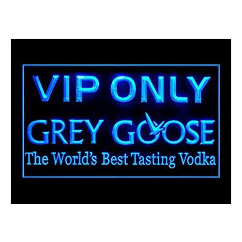 Grey Goose Vodka VIP Only Drink Led Light Sign