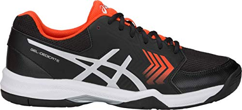 ASICS Men's Gel-Dedicate 5 Dark Blue/Silver/White 12 D US