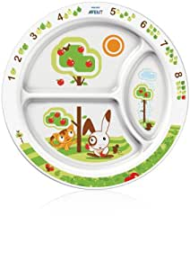 Philips AVENT BPA Free Toddler Divider Plate, 12+ Months (Discontinued by Manufacturer)