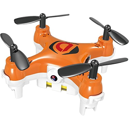 Mini Drone Mirage with Camera for Photo and Video Recording High Performance Quadcopter- Orange by WorryFree Gadgets