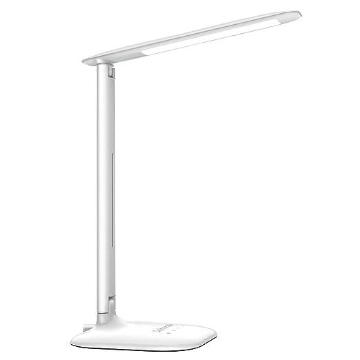 Dohomai LED Lámpara de Escritorio, Lámpara de Mesa Plegable con ...