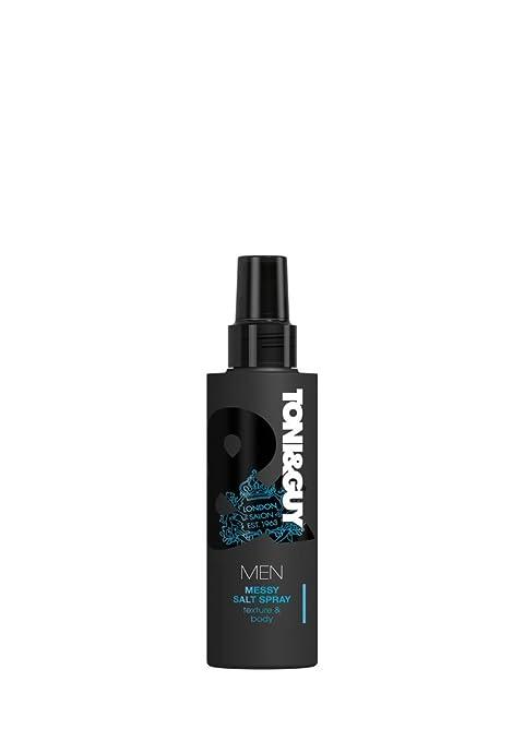 2 opinioni per Toni&Guy- Men, Spray per capelli al sale, effetto mosso e opaco, 200 ml